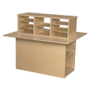 Wood Designs WD31120 Double Sided Junior Writing Center , 36.00
