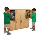 Wood Designs WD46320 Stacking Locker - Two Units , 40.00
