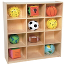 Wood Designs WD50912 12 Big Cubby Storage , 49.00