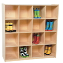 Wood Designs WD50916 16 Big Cubby Storage , 49.00