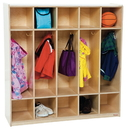 Wood Designs WD51200 5 Section Locker , 49.00