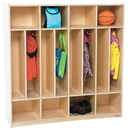 Wood Designs WD51208 8 Section Space-Saver Locker , 49.00