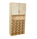 Wood Designs WD56209 20 Tray Vertical Storage Cabinet without Trays , 75.00