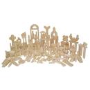 Wood Designs WD60600 Classroom Blocks - 24 Shapes, 372 Pieces