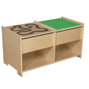 Wood Designs WD85699 Build-N-Play Table with Race Track , 19.00