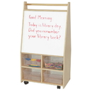 Wood Designs WD95411 Magnetic Art Center with (4) Translucent Trays , 44.00