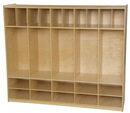 Wood Designs WD990096 Locker and Communication Center without Trays , 49.00