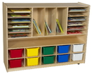 Wood Designs WD990202AT Multi-Storage with 10 Assorted Trays , 38.00
