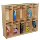 Wood Designs WD990314 10 Section Locker , 49.00