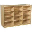 Wood Designs WD990315 Cubby Shelves , 42.44