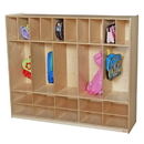Wood Designs WD990316 Five Section Locker with Cubbies , 49.00