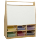 Wood Designs WD990321CT Book Display with Translucent Trays , 44.00