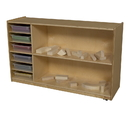 Wood Designs WD990331CT Shelf Storage with Translucent Trays , 30.00