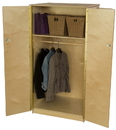 Wood Designs WD990411 Teacher's Locking Wardrobe Cabinet , 61.00
