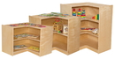 Wood Designs WD990509 Corner Storage- 38
