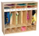 Wood Designs WD990539 Open Shelf Locker , 49.00