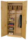 Wood Designs WD990541 Three Adjustable Shelf Wardrobe Unit- 84
