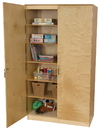 Wood Designs WD990542 Space Saving Resource Cabinet , 84.00