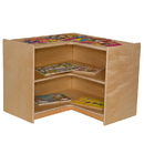 Wood Designs WD990581 Corner Storage- 23.5
