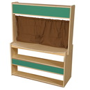 Wood Designs WD990874 Farmer's Market Stand (without baskets) , 46.50