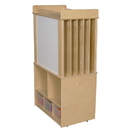 Wood Designs WD99541 Store-It-All Teaching Center w/3 Translucent Trays , 51.00