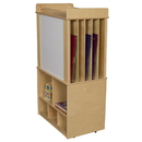 Wood Designs WD99549 Store-It-All Teaching Center w/o Trays , 51.00