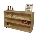 Wood Designs WD995832 Mobile Shelf Storage , 30.00