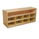 Wood Designs WD99609 Mobile Low Storage without Trays , 23.00