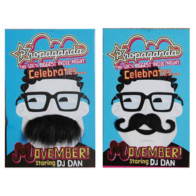 Oparty Spy Mustache, Self Adhesive, Halloween Party Favors, Price/10 PCS