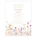 Weddingstar Hearts Invitation