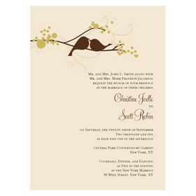Weddingstar Love Bird Invitation , Price/4 Package