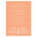 Weddingstar Forget Me Not Invitation