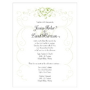 Weddingstar Heart Filigree Invitation