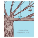 Weddingstar 1064-12 Heart Strings Rectangular Label