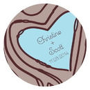 Weddingstar 1064-16 Heart Strings Large Sticker
