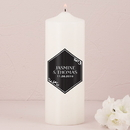 Weddingstar Black and Gold Opulence Unity Candle