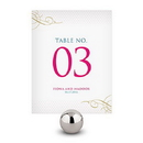 Weddingstar Contemporary Vintage Table Numbers