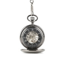 Weddingstar 41028 Gunmetal Mechanical Pocket Watch
