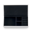 Weddingstar 4459-10-8930-146-03 Vegan Leather Jewellery Box - Hello Gorgeous Emboss Black
