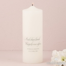 Weddingstar 7204 Happily Ever After Personalized Unity Candle