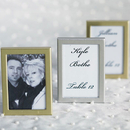 Weddingstar 8055-77 Easel Back Mini Photo Frame - Brushed Silver