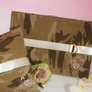 Weddingstar 8501 Discerning Camouflage Traditional Guest Book