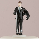 Weddingstar 8511 Hockey Groom Mix & Match Cake Topper
