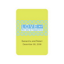 Weddingstar 8585-22 LOVE - The Key to Happiness Stickers