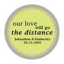 Weddingstar 8599-15 Our Love Will Go the Distance Stickers
