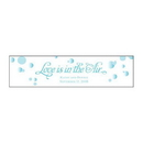 Weddingstar 8814-22 Love is in the Air Bubble Sticker