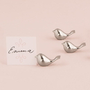 Weddingstar 9023 Love Bird Card Holders with Brushed Silver Finish