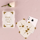 Weddingstar 9092 Classic Metallic Gold Playing Cards in Plastic Case
