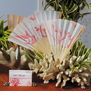 Weddingstar 9147 Beach Fan with Delightful Underwater Seascape