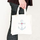 Weddingstar 9218-8981 Anchor Personalized Tote Bag - Tote Bag with Gussets